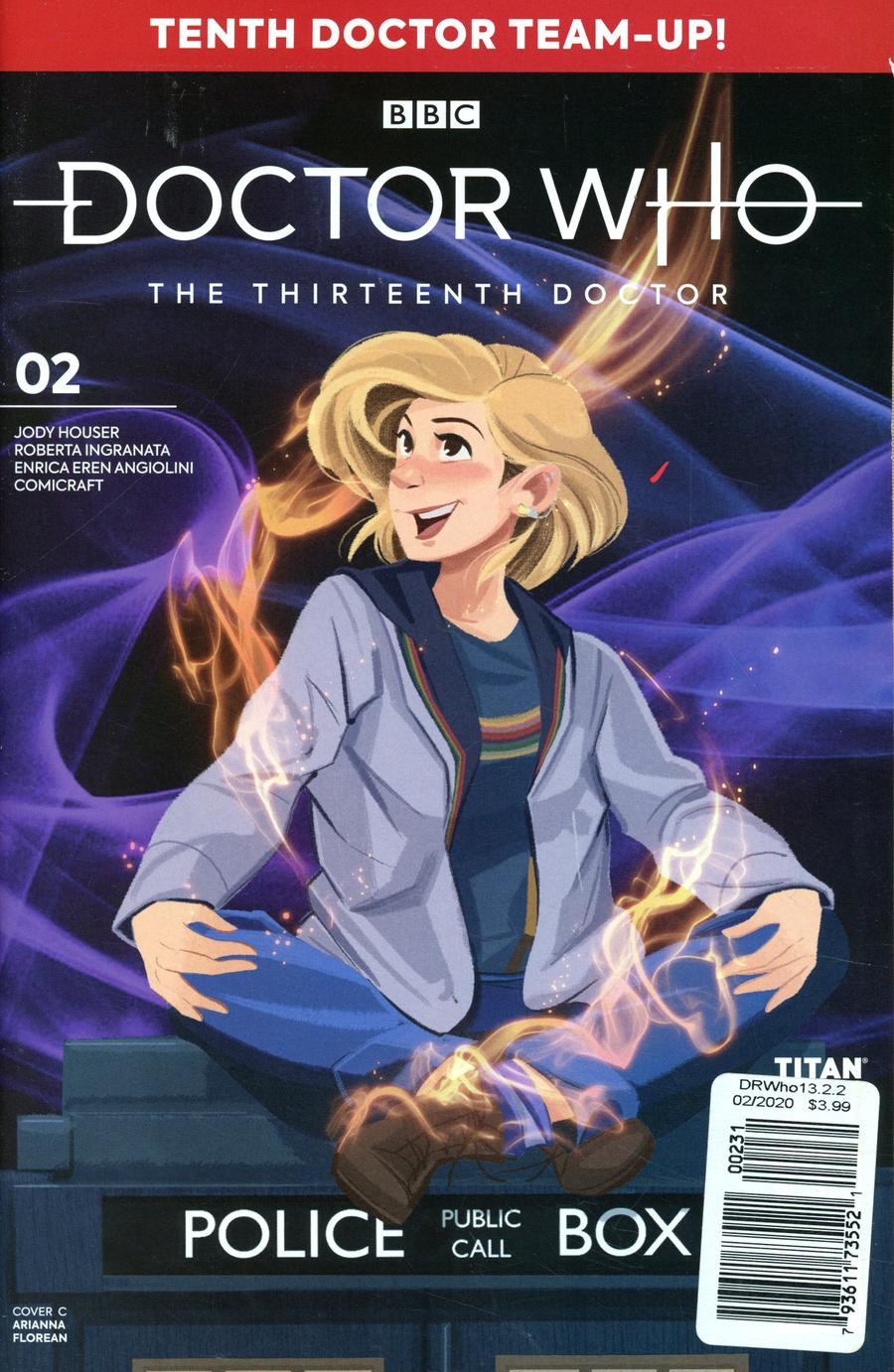 Doctor Who 13th Doctor Season 2 #2 Cover C Variant Andrew Pepoy Cover