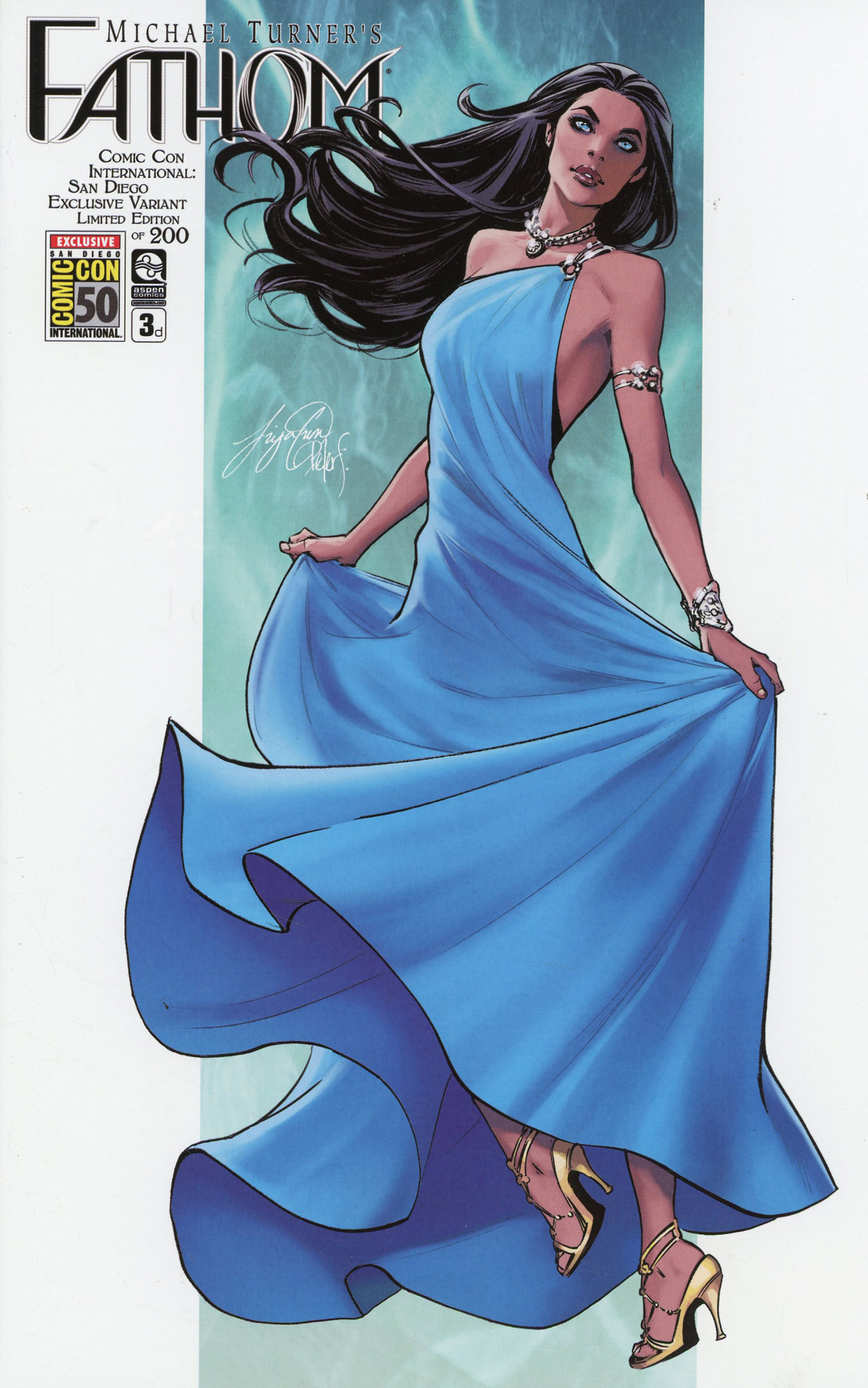 Fathom Vol 6 #3 Cover D SDCC 2019 Exclusive Siya Oum & Peter Steigerwald Variant Cover