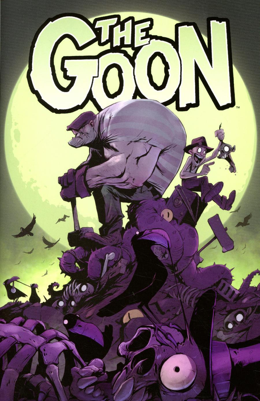 Goon Vol 4 #9 Cover B Variant Greg Baldwin Cardstock Cover