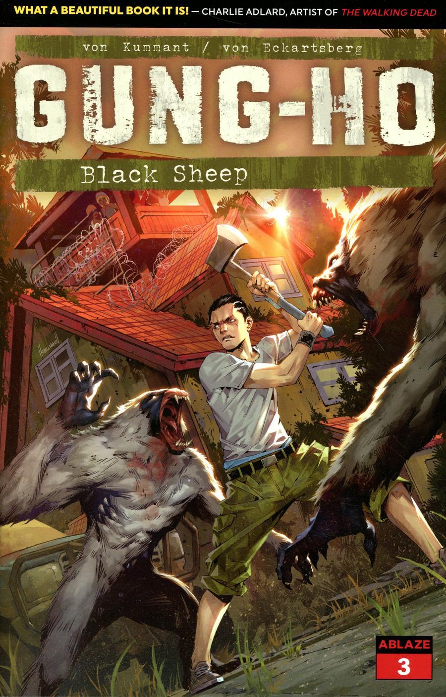 Gung-Ho #3 Cover B Variant Kael Ngu Cover