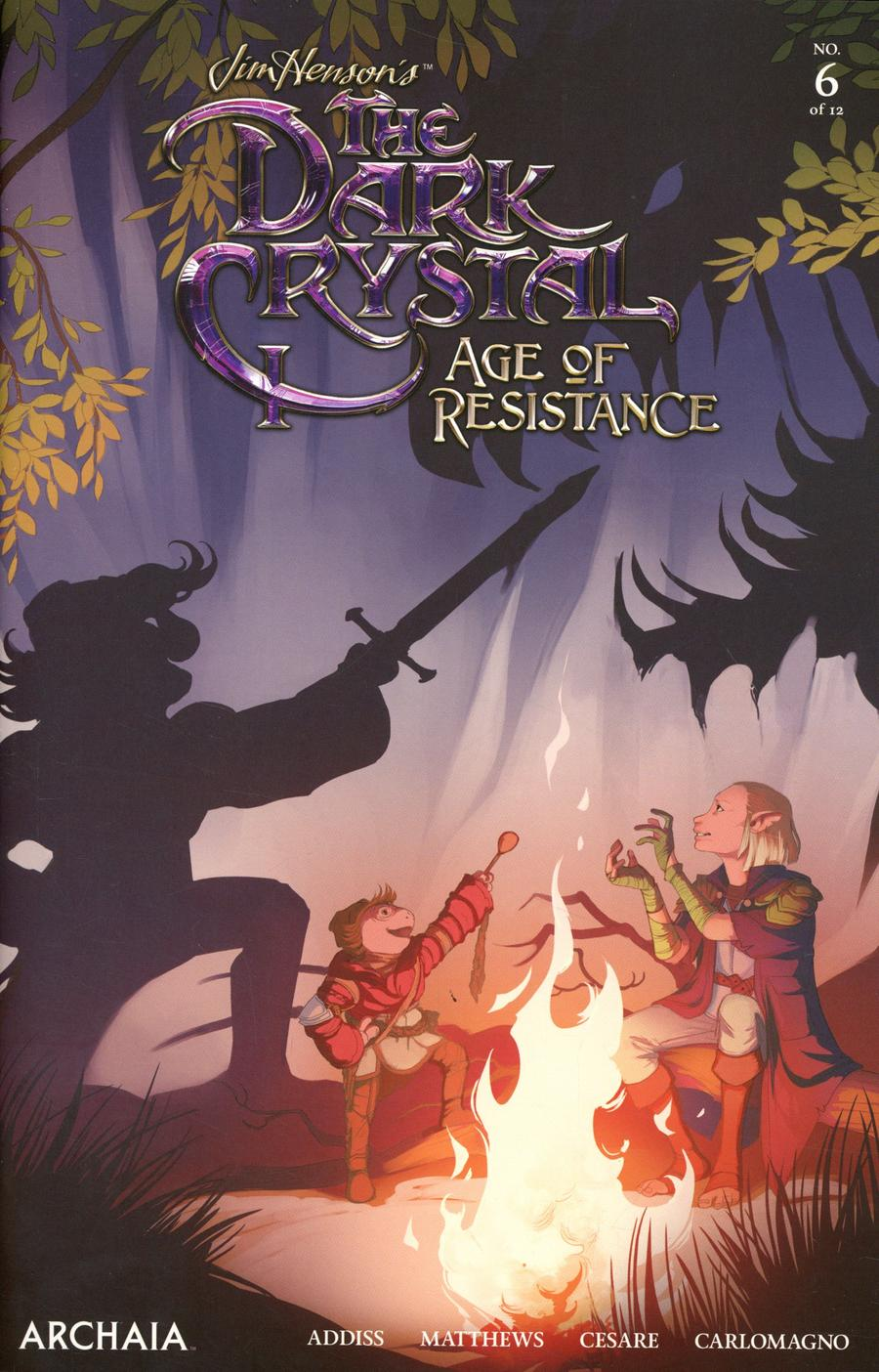 Jim Hensons Dark Crystal Age Of Resistance #6 Cover A Regular Mona Finden Cover