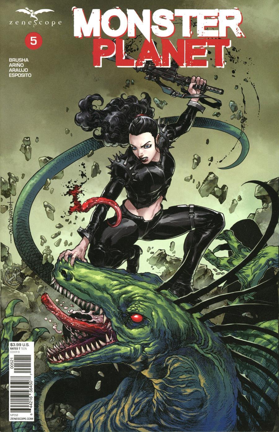 Monster Planet #5 Cover B Harvey Tolibao