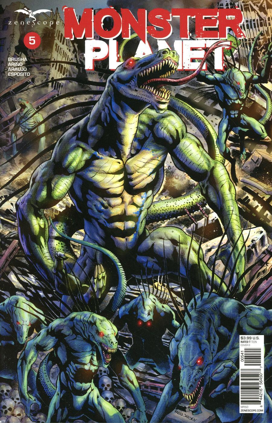 Monster Planet #5 Cover D Fabio Lima Jansen