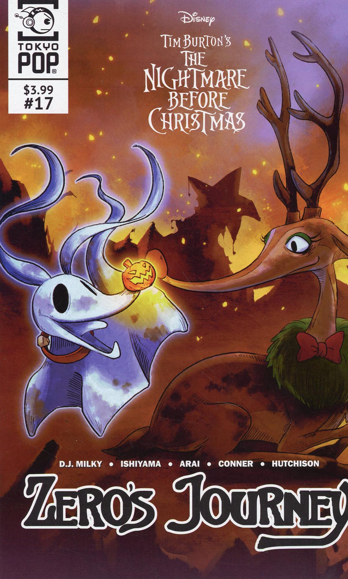 Nightmare Before Christmas Zeros Journey #17