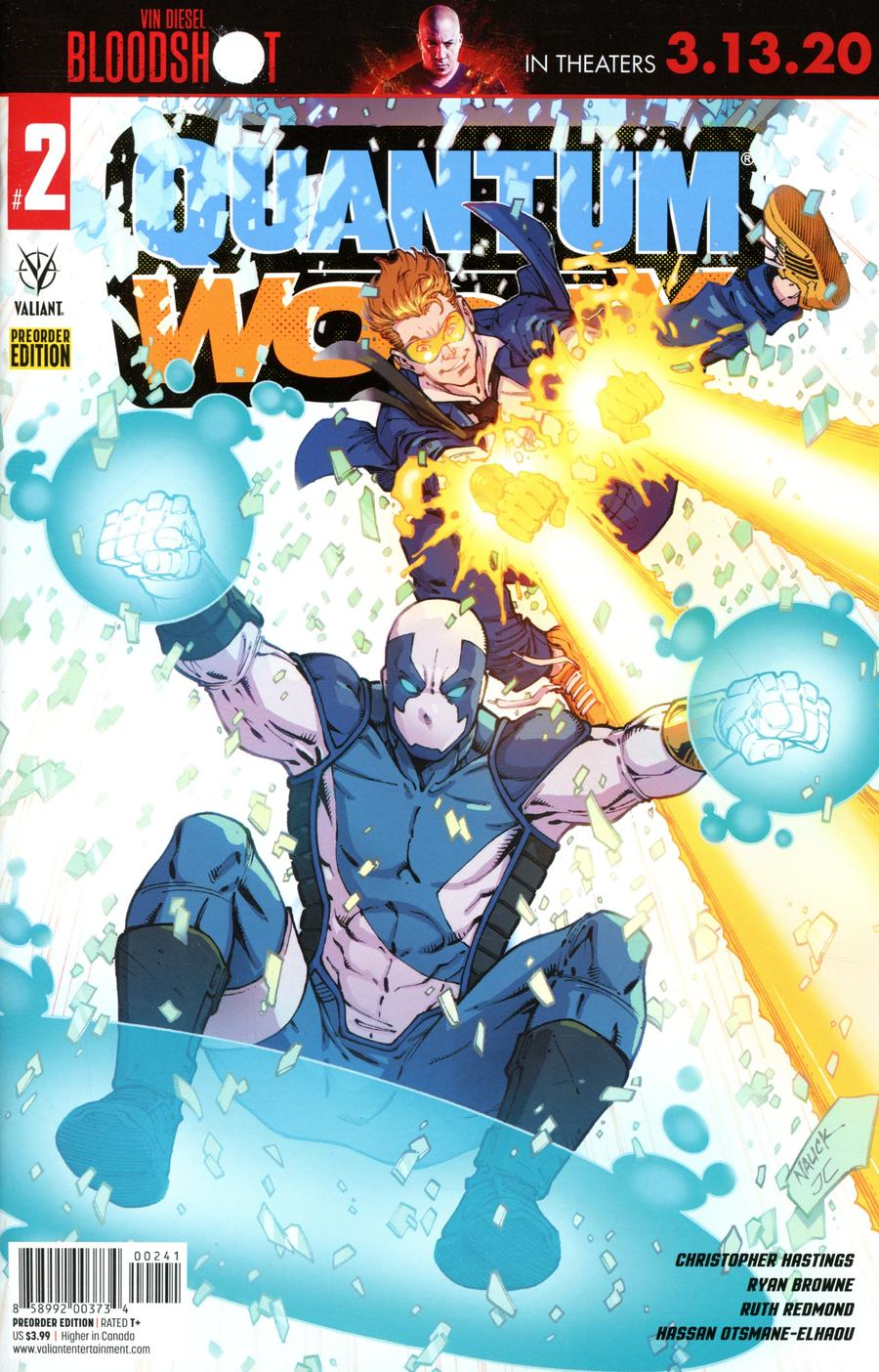 Quantum & Woody Vol 5 #2 Cover D Variant Erica Henderson Pre-Order Edition