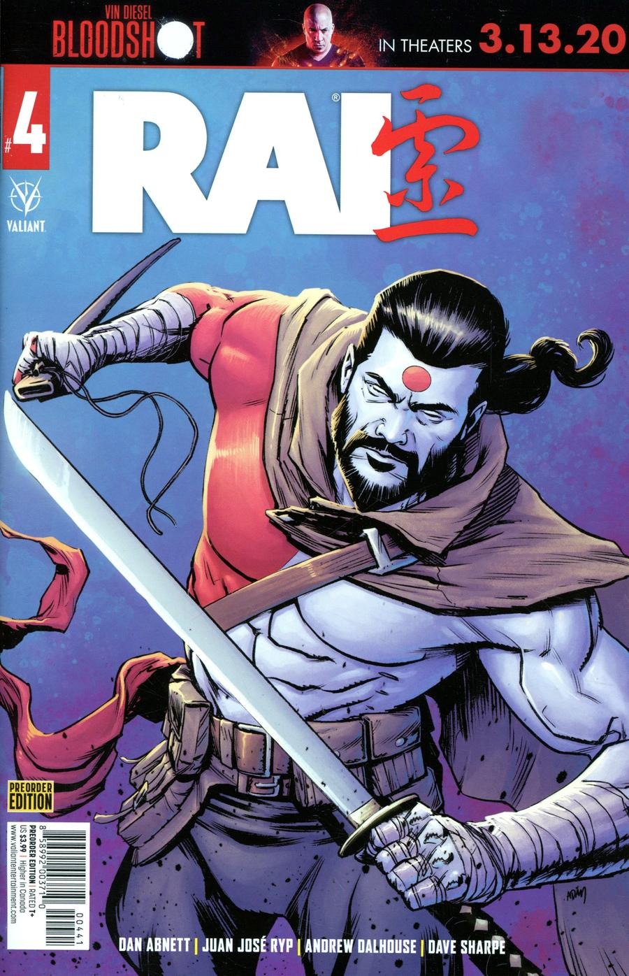 Rai Vol 3 #4 Cover D Variant Pre-Order Edition