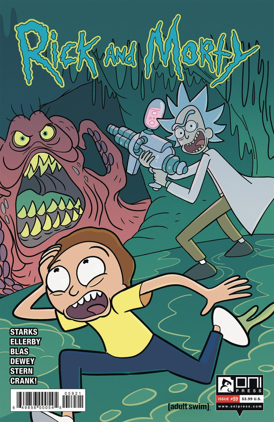 Rick And Morty #59 Cover B Variant Marco Mazzarello & Sarah Stern Cover