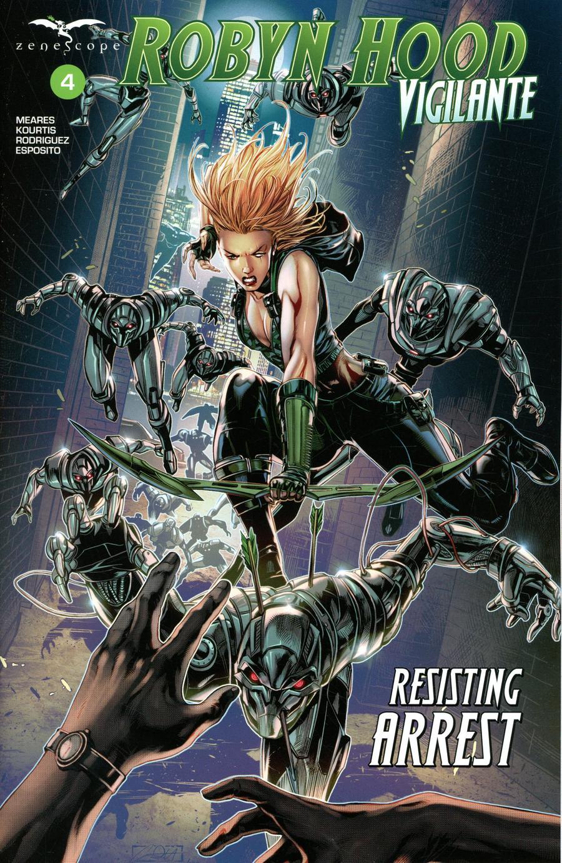 Grimm Fairy Tales Presents Robyn Hood Vigilante #4 Cover A Caanan White