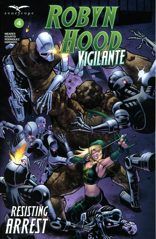 Grimm Fairy Tales Presents Robyn Hood Vigilante #4 Cover B Jason Muhr