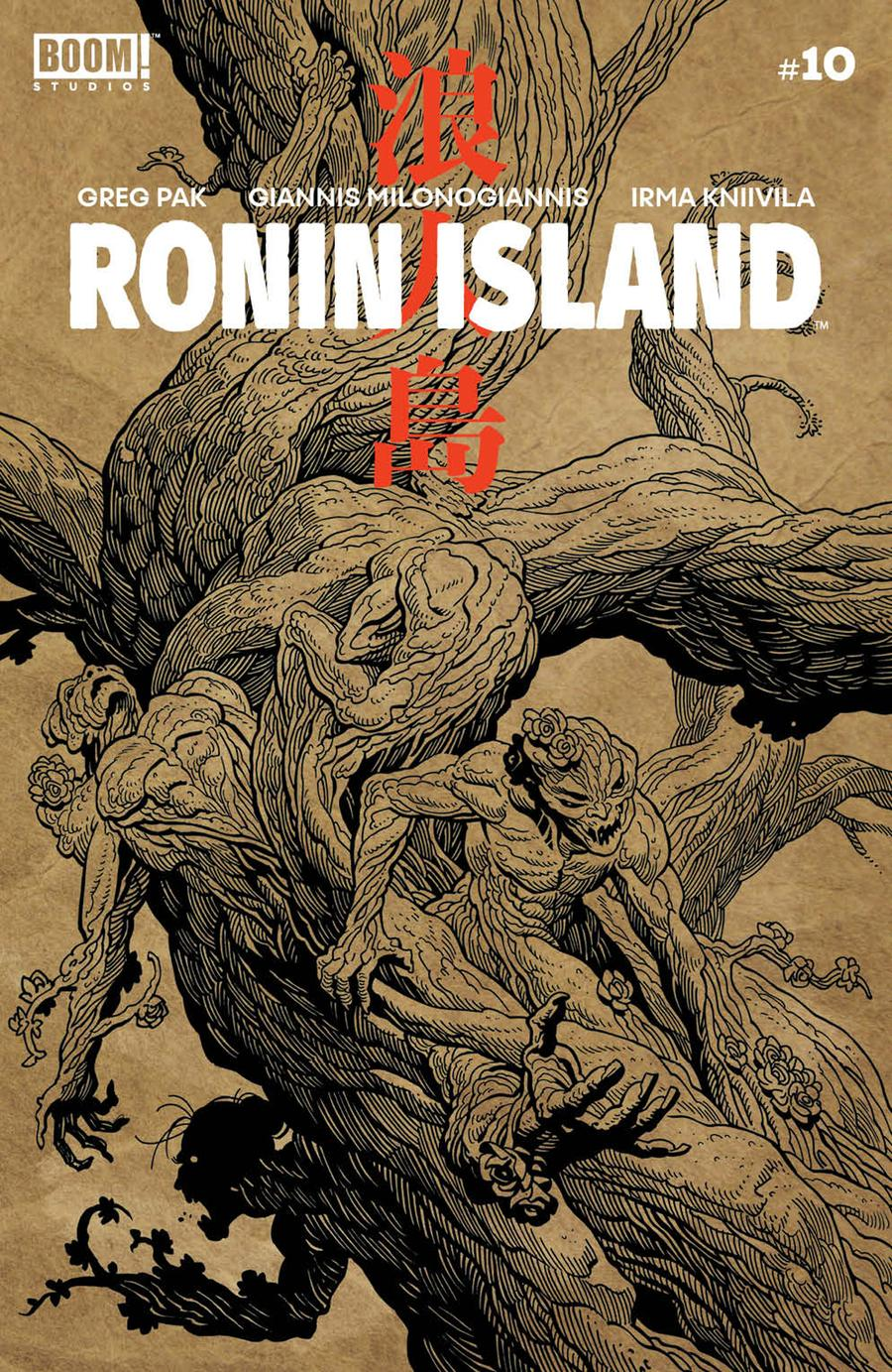 Ronin Island #10 Cover B Variant Ethan Young Preorder Cover