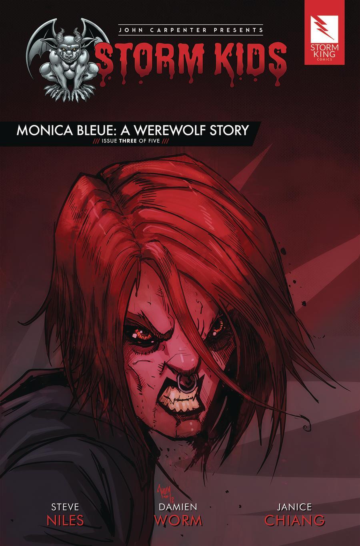 John Carpenter Presents Storm Kids Monica Bleue A Werewolf Story #3