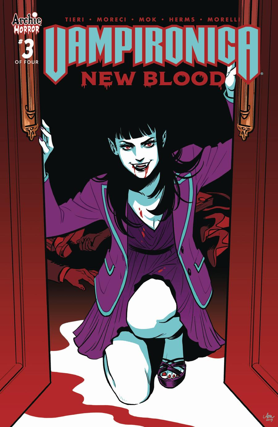Vampironica New Blood #3 Cover A Regular Audrey Mok Cover