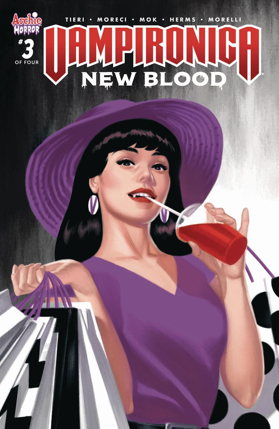 Vampironica New Blood #3 Cover C Variant Greg Smallwood Cover