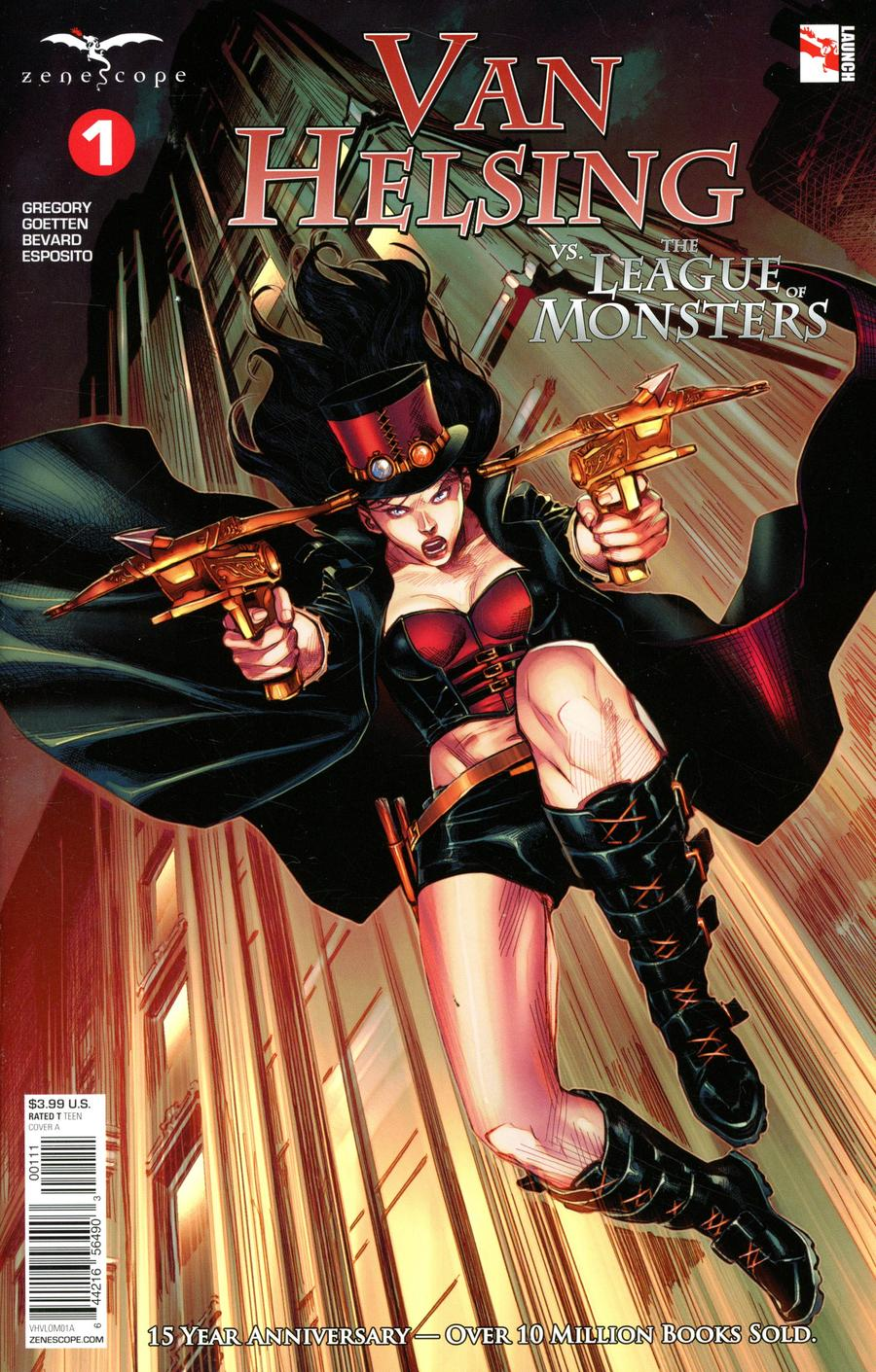 Grimm Fairy Tales Presents Van Helsing vs The League Of Monsters #1 Cover A Martin Coccolo