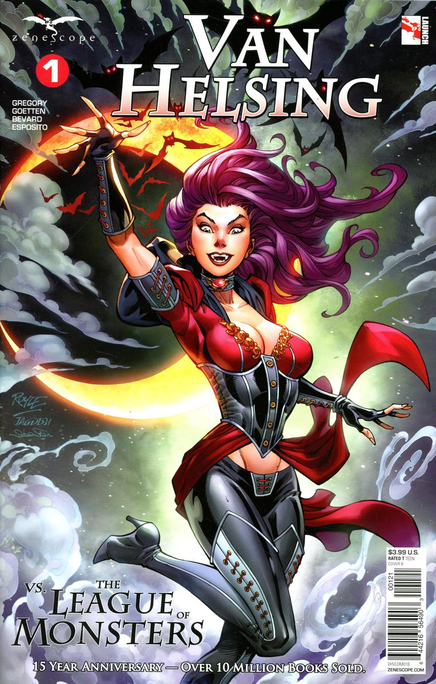 Grimm Fairy Tales Presents Van Helsing vs The League Of Monsters #1 Cover B John Royle