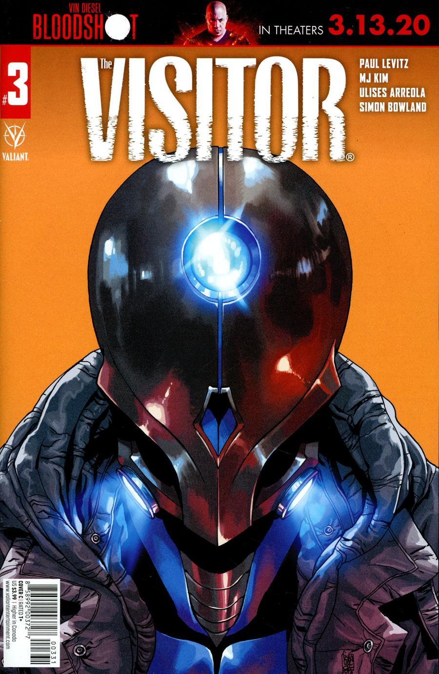Visitor Vol 2 #3 Cover C Variant Giuseppe Camuncoli Cover
