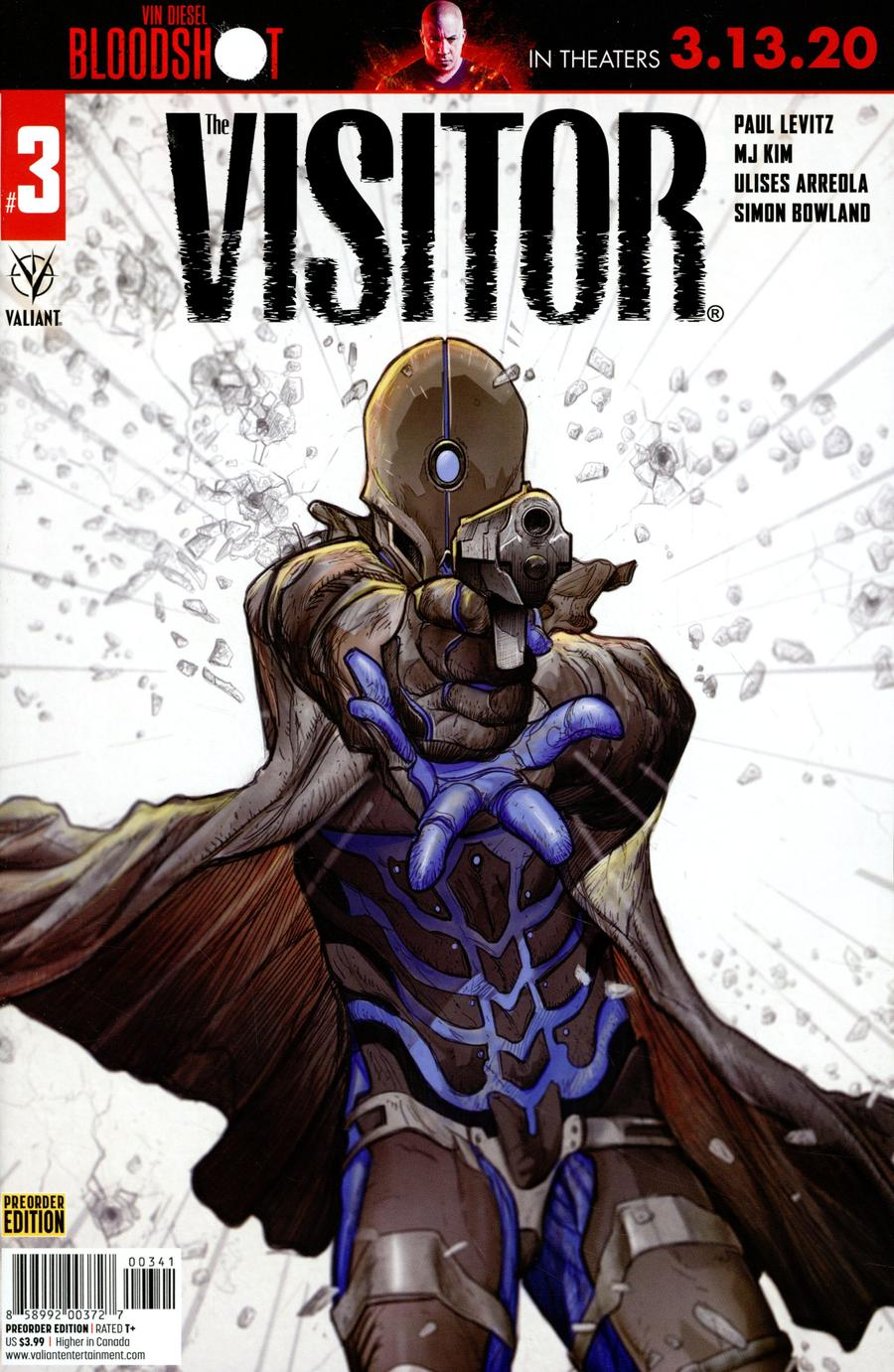 Visitor Vol 2 #3 Cover D Variant Pre-Order Edition