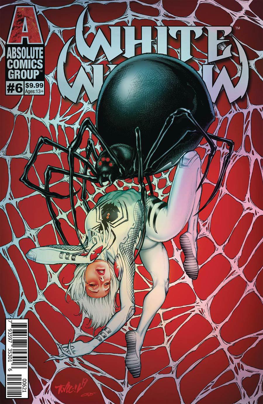 White Widow #6 Cover B Variant Tim Vigil Holo Metallic Ink Cover