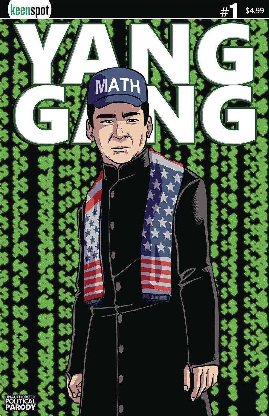 Yang Gang #1 Cover C Variant Shawn Remulac Mathtrix Cover