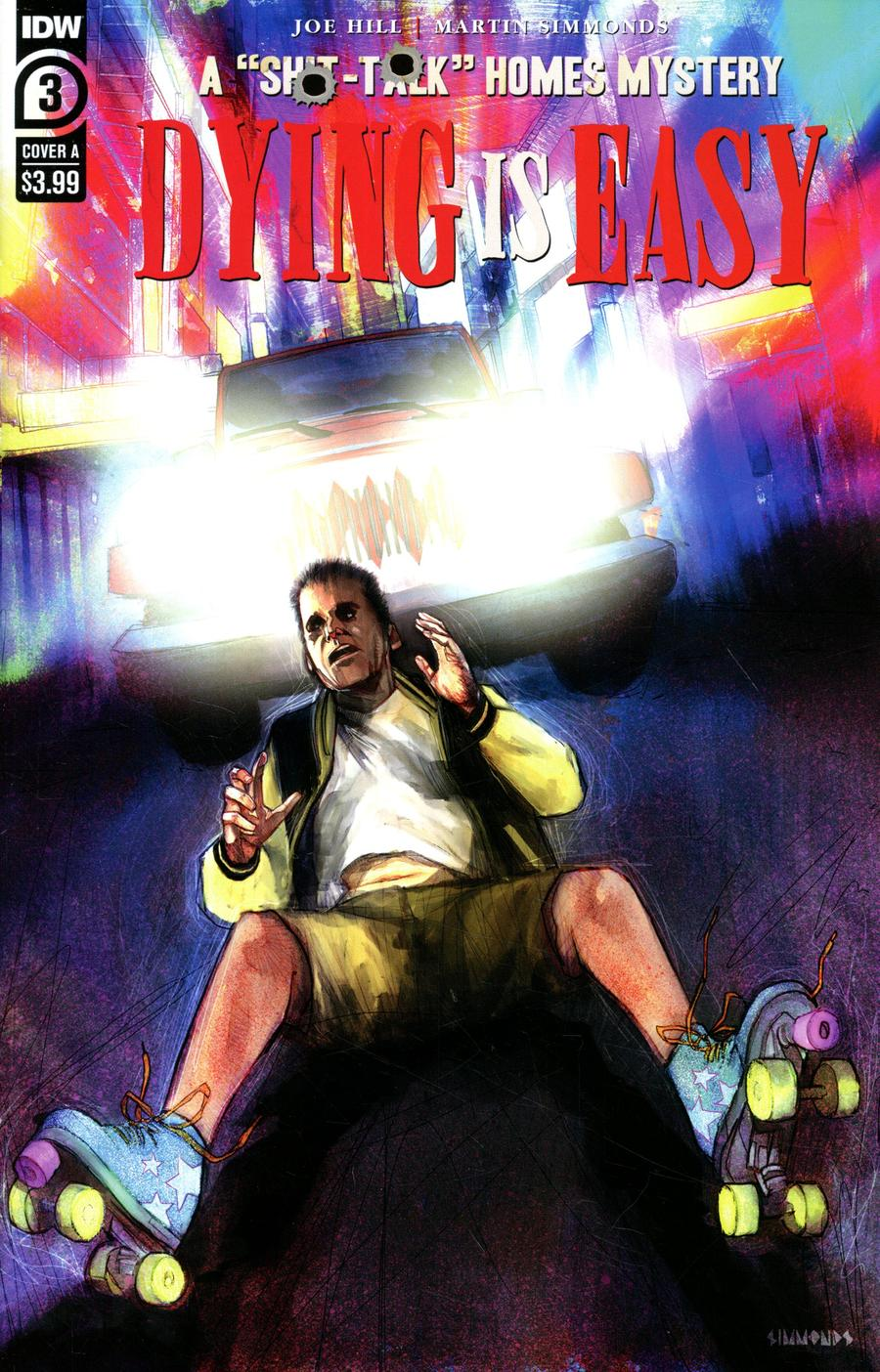 Dying Is Easy #3 Cover A Regular Martin Simmonds Cover