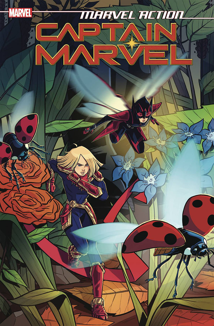 Marvel Action Captain Marvel #5 Cover A Regular Sweeney Boo Cover