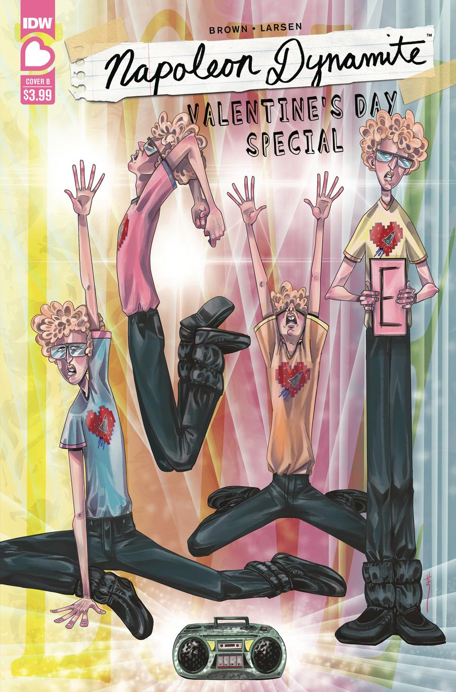 Napoleon Dynamite Valentines Day Special Cover B Variant Sara Richard Cover
