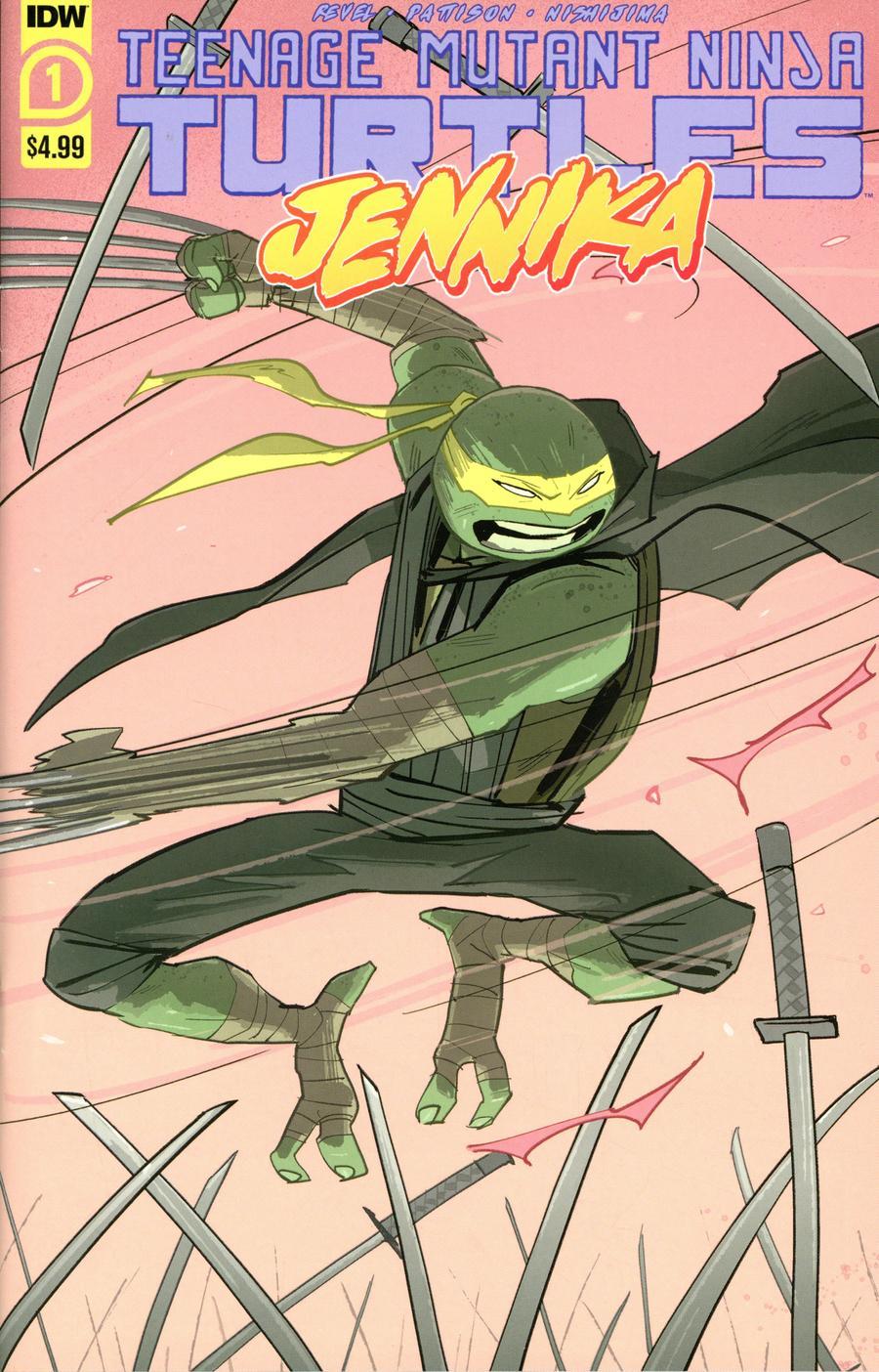 Teenage Mutant Ninja Turtles Jennika #1 Cover A Regular Brahm Revel Cover