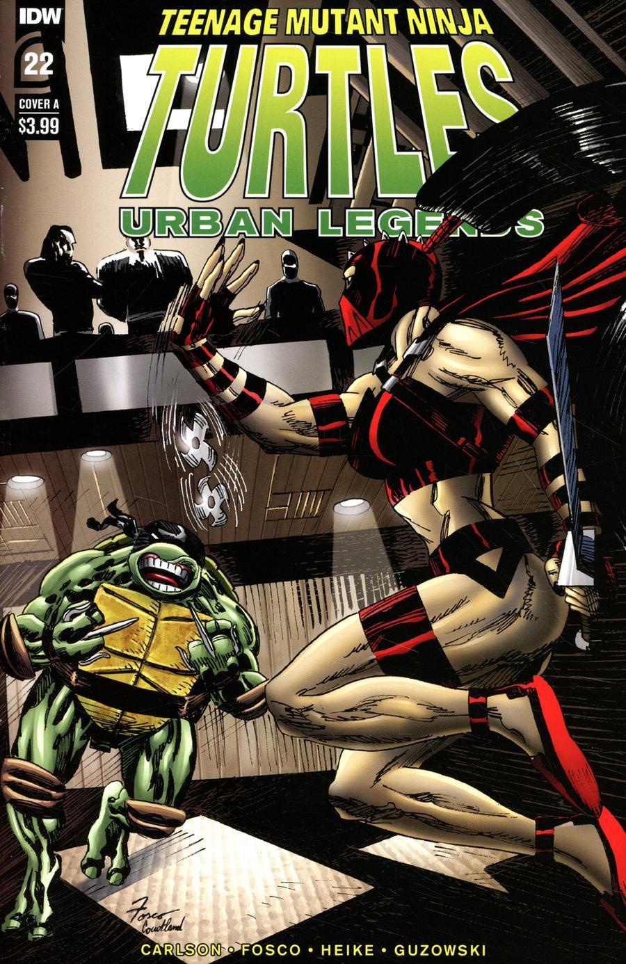 Teenage Mutant Ninja Turtles Urban Legends #22 Cover A Regular Frank Fosco Cover