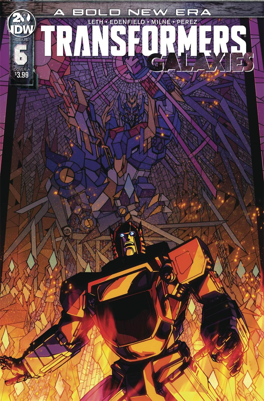 Transformers Galaxies #6 Cover A Regular Alex Milne Cover