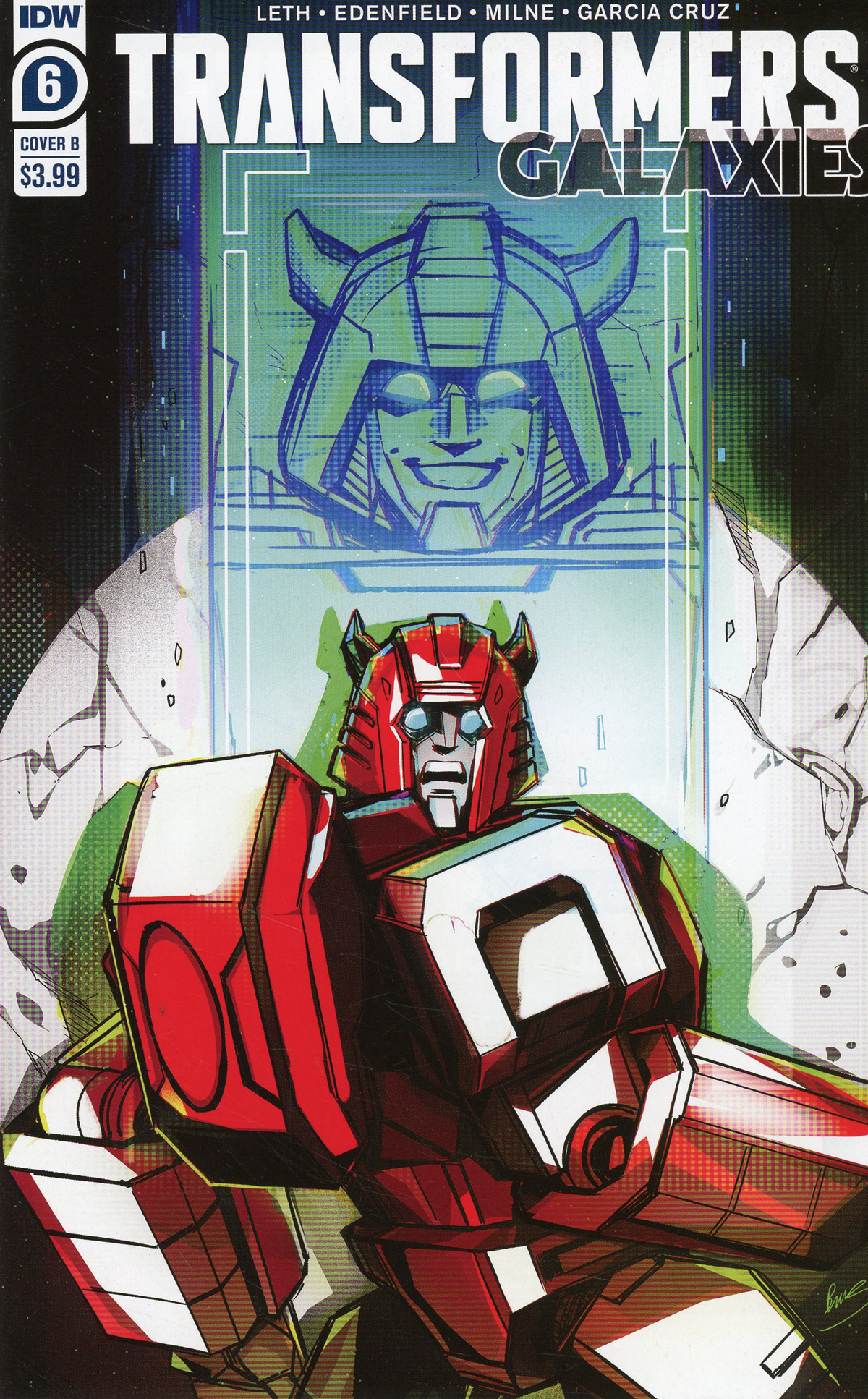 Transformers Galaxies #6 Cover B Variant Bethany McGuire-Smith Cover