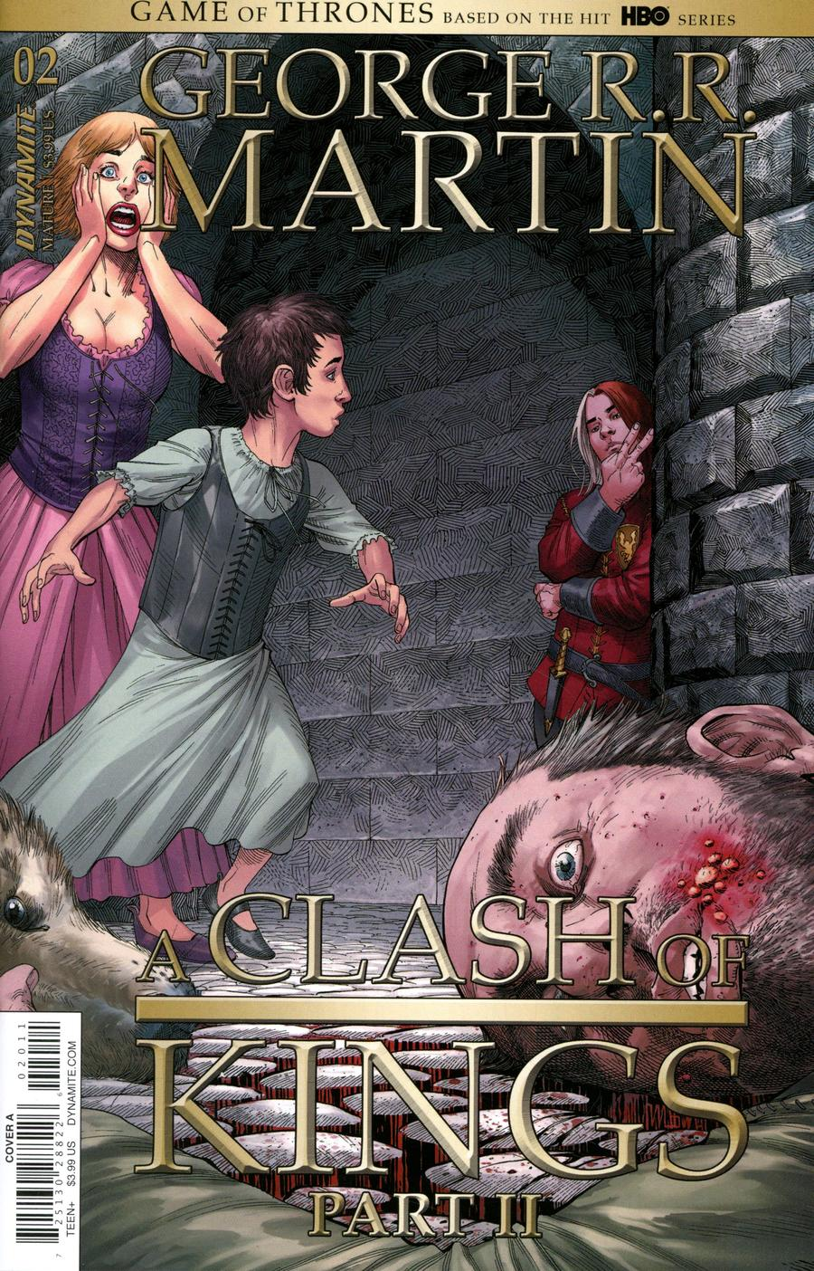 Game Of Thrones Clash Of Kings Vol 2 #2 Cover A Regular Mike Miller Cover