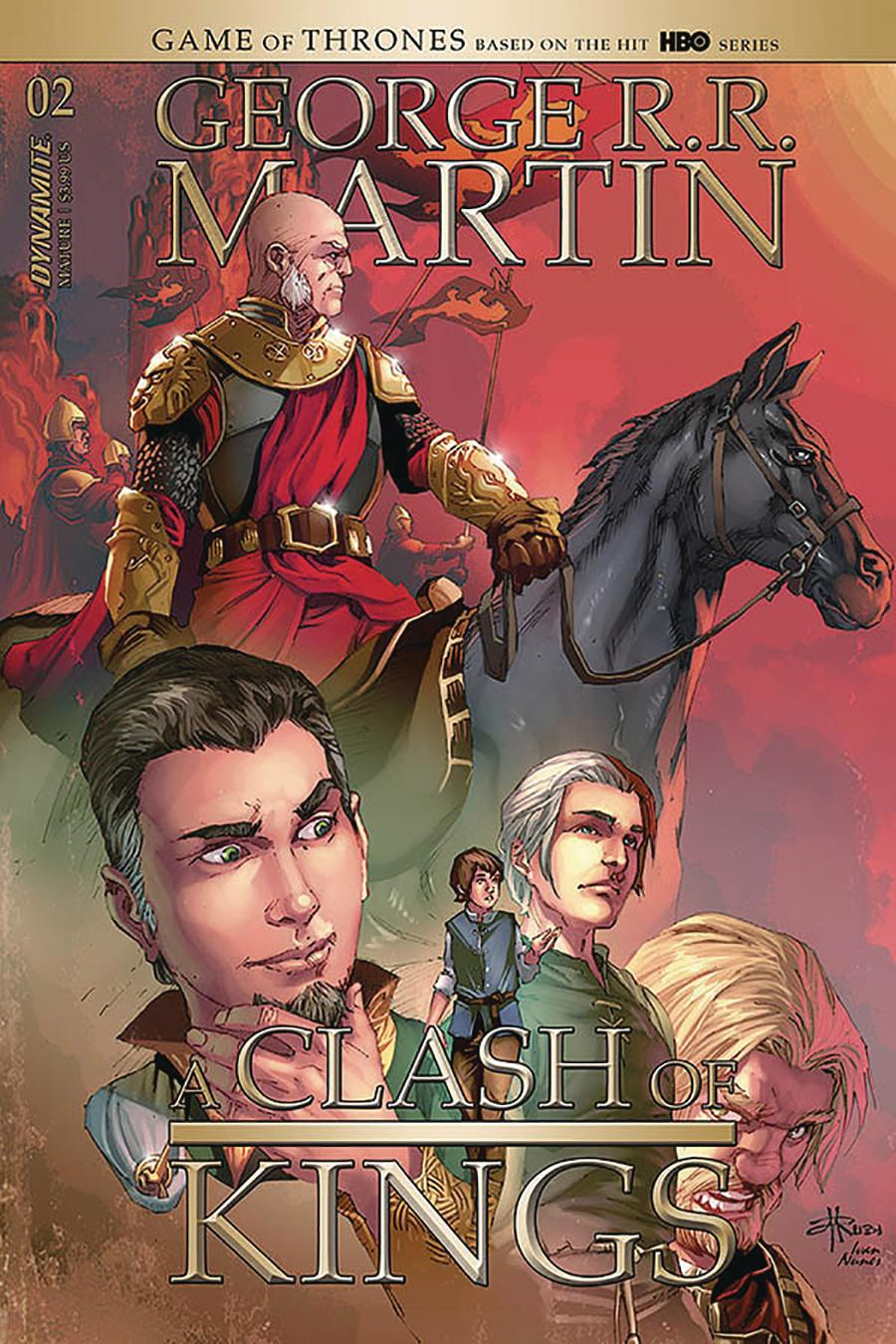 Game Of Thrones Clash Of Kings Vol 2 #2 Cover B Variant Mel Rubi Cover