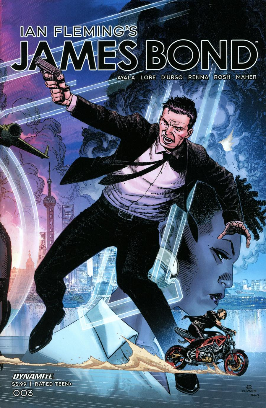 James Bond Vol 3 #3 Cover A Regular Jim Cheung Fold Out Cover