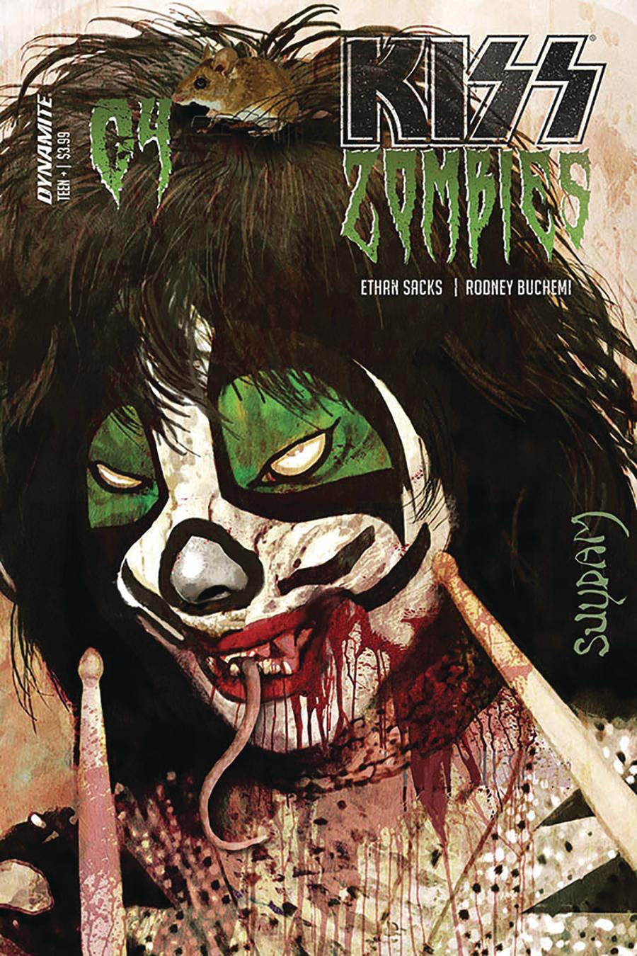 KISS Zombies #4 Cover A Regular Arthur Suydam Cover