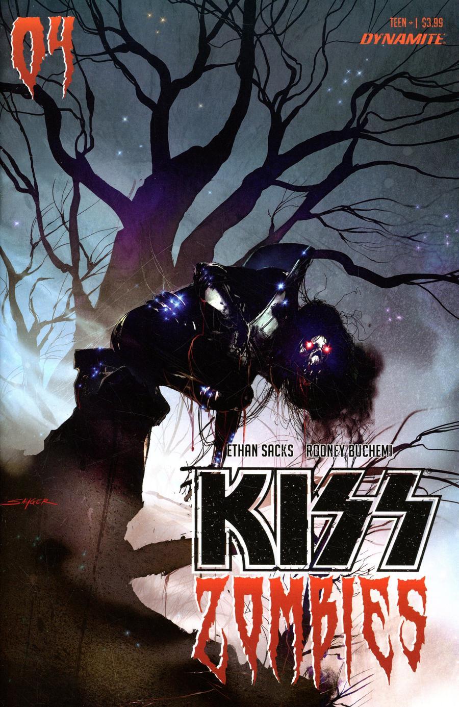 KISS Zombies #4 Cover B Variant Stuart Sayger Cover