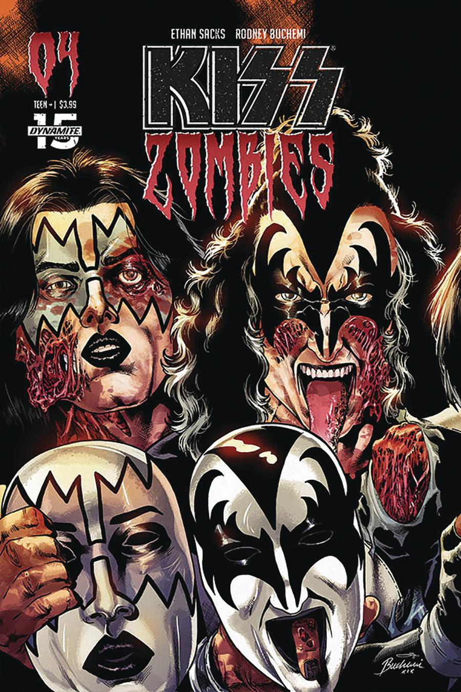 KISS Zombies #4 Cover C Variant Rodney Buchemi Cover