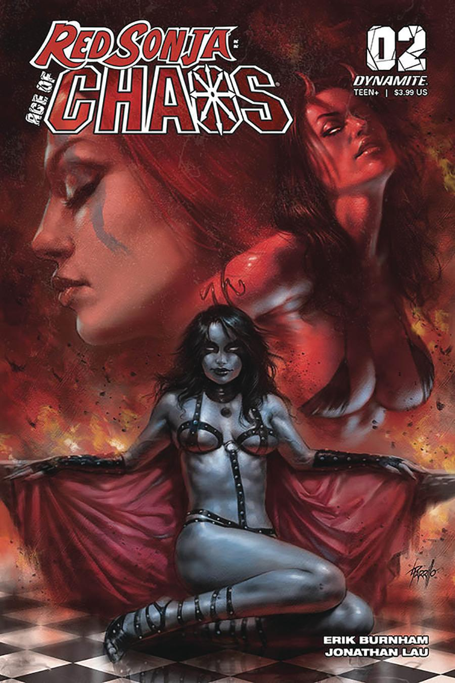 Red Sonja Age Of Chaos #2 Cover A Regular Lucio Parrillo Cover