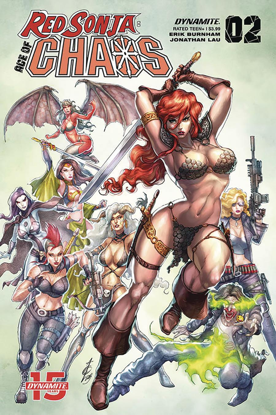 Red Sonja Age Of Chaos #2 Cover B Variant Alan Quah Cover