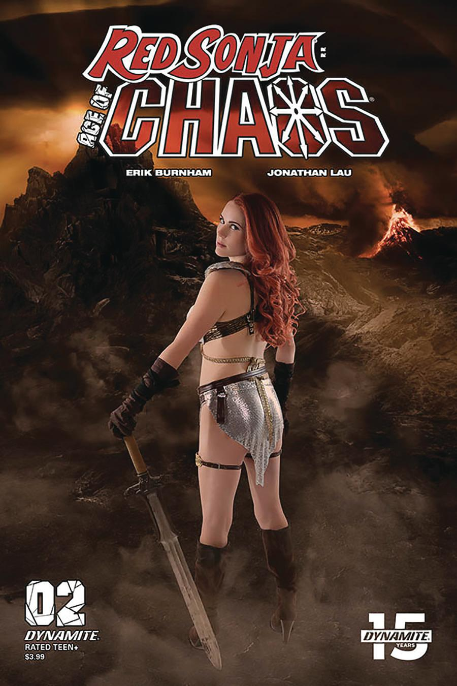 Red Sonja Age Of Chaos #2 Cover E Variant Shannon Kingston Cosplay Photo Cover