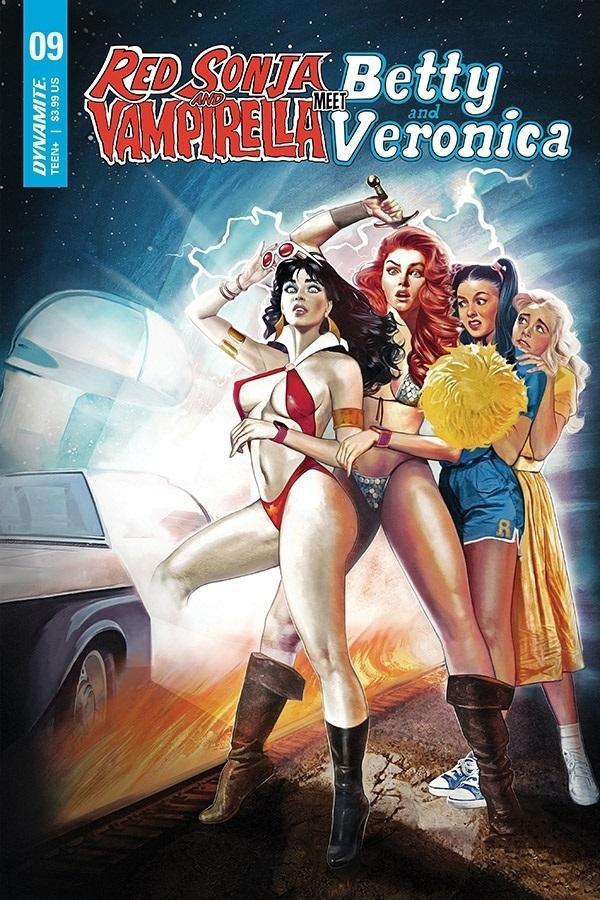 Red Sonja And Vampirella Meet Betty And Veronica #9 Cover A Regular Fay Dalton Cover