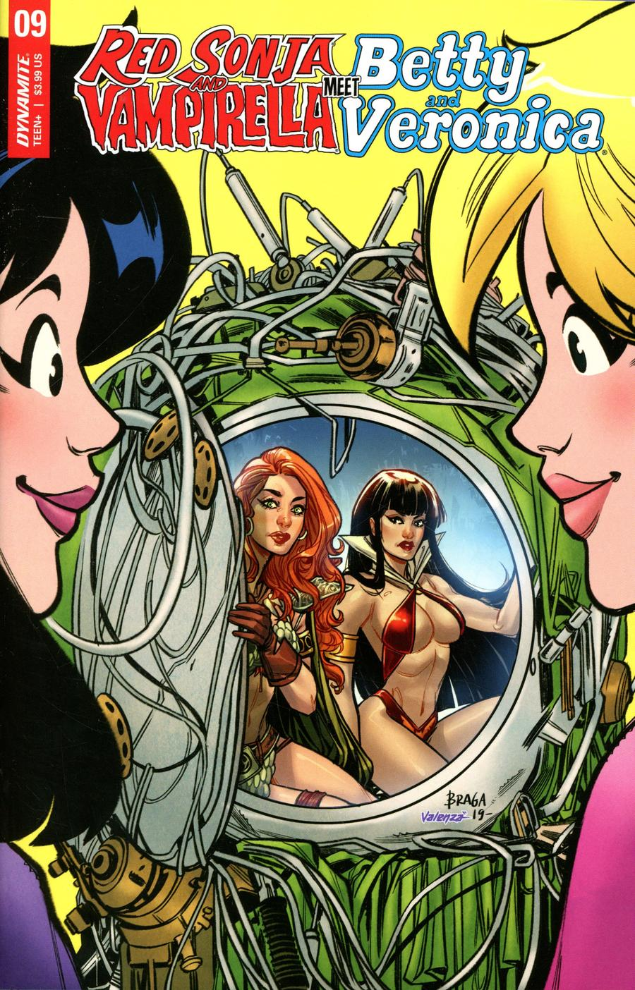 Red Sonja And Vampirella Meet Betty And Veronica #9 Cover C Variant Laura Braga Cover