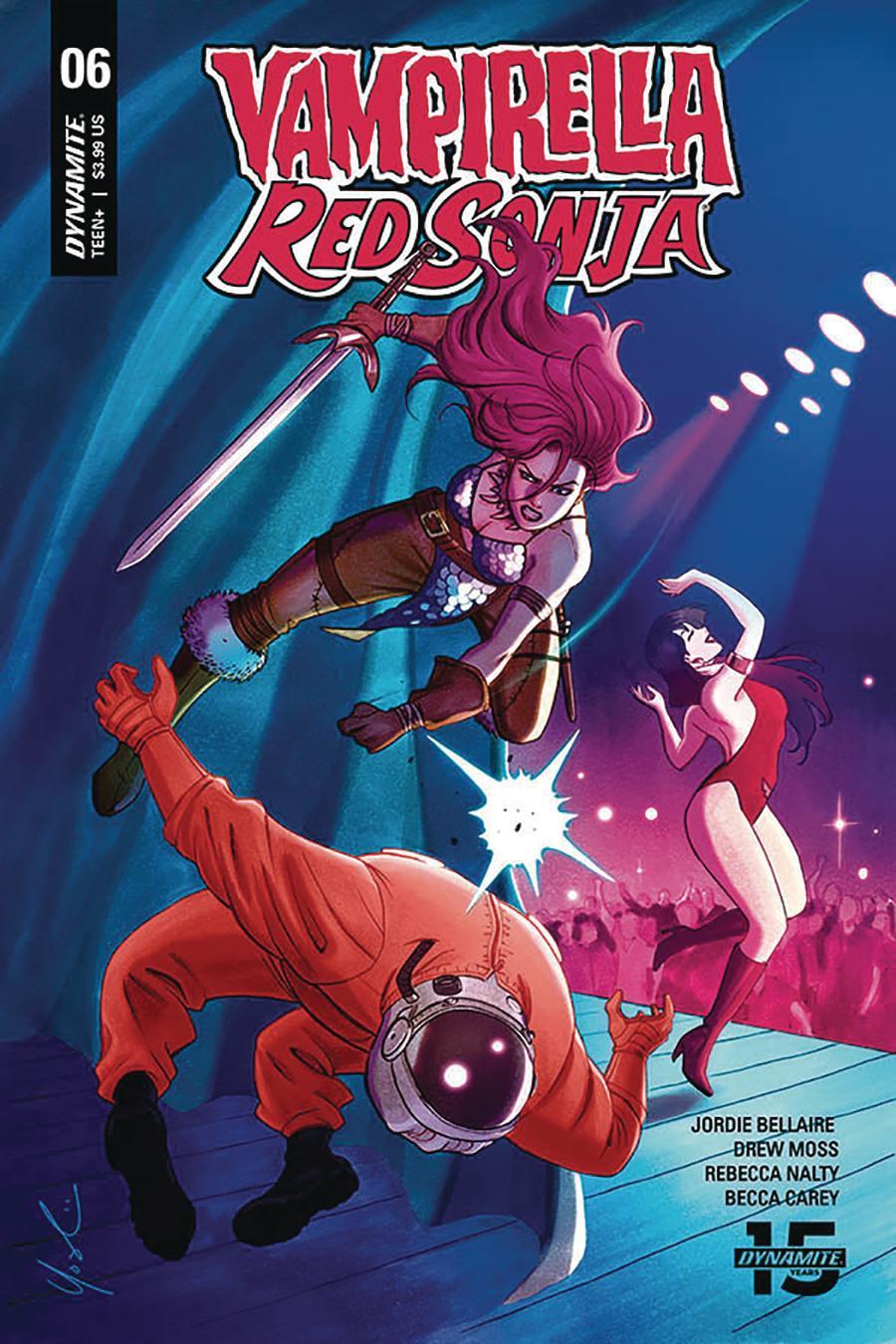 Vampirella Red Sonja #6 Cover D Variant Lynne Yoshii Valentine Cover