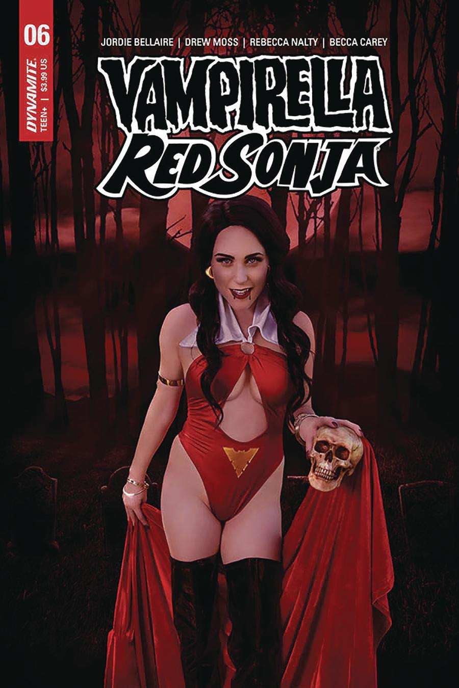 Vampirella Red Sonja #6 Cover E Variant Shannon Kingston Cosplay Photo Cover