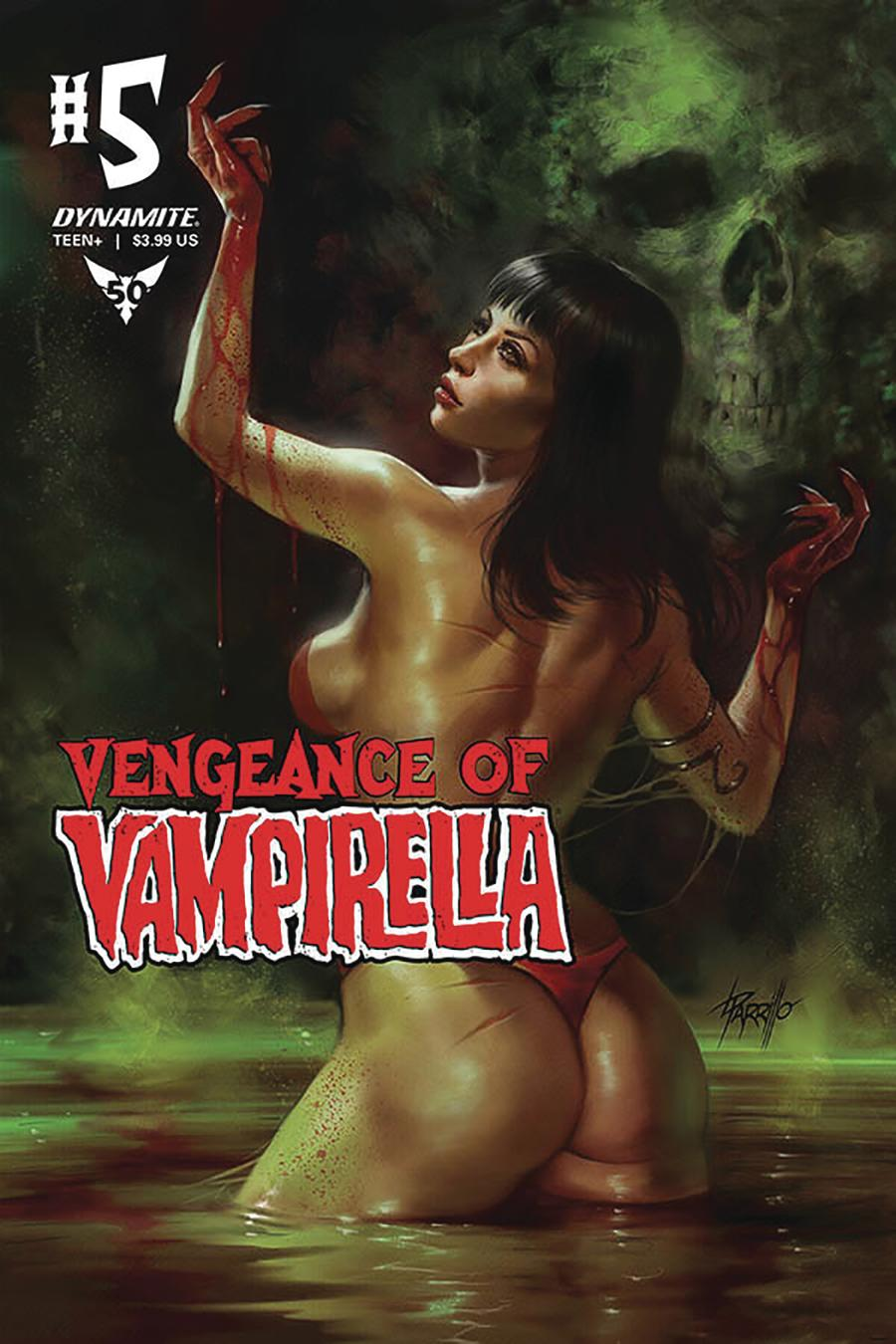 Vengeance Of Vampirella Vol 2 #5 Cover A Regular Lucio Parrillo Cover
