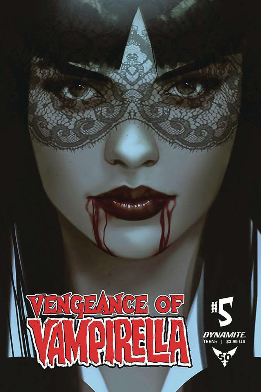 Vengeance Of Vampirella Vol 2 #5 Cover B Variant Ben Oliver Cover