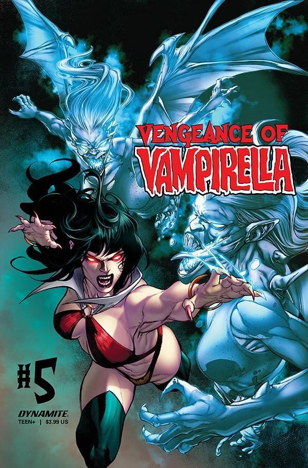 Vengeance Of Vampirella Vol 2 #5 Cover C Variant Buzz Cover