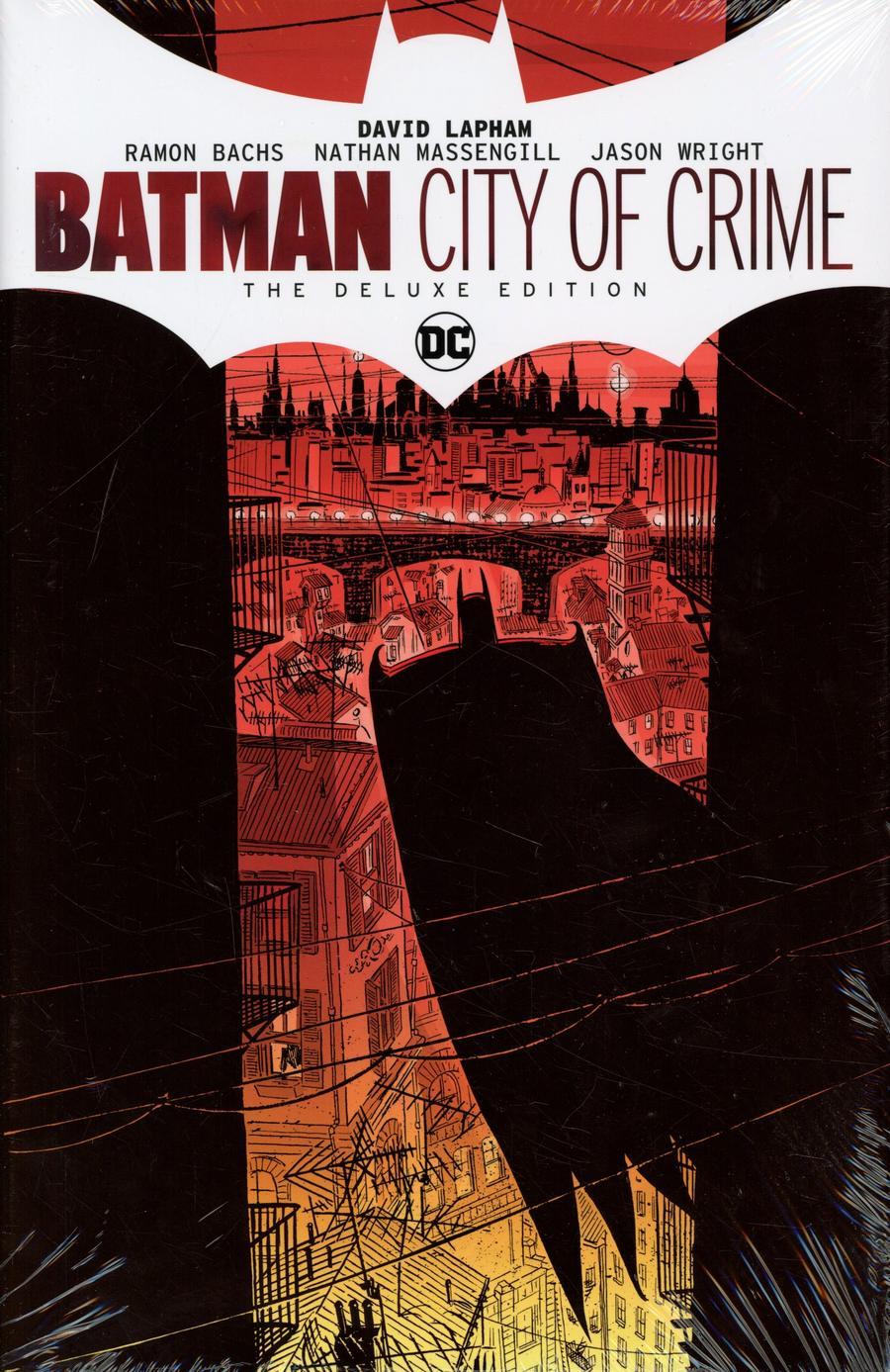 Batman City Of Crime Deluxe Edition HC