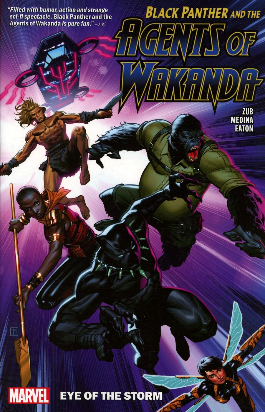 Black Panther And The Agents Of Wakanda Vol 1 Eye Of The Storm TP