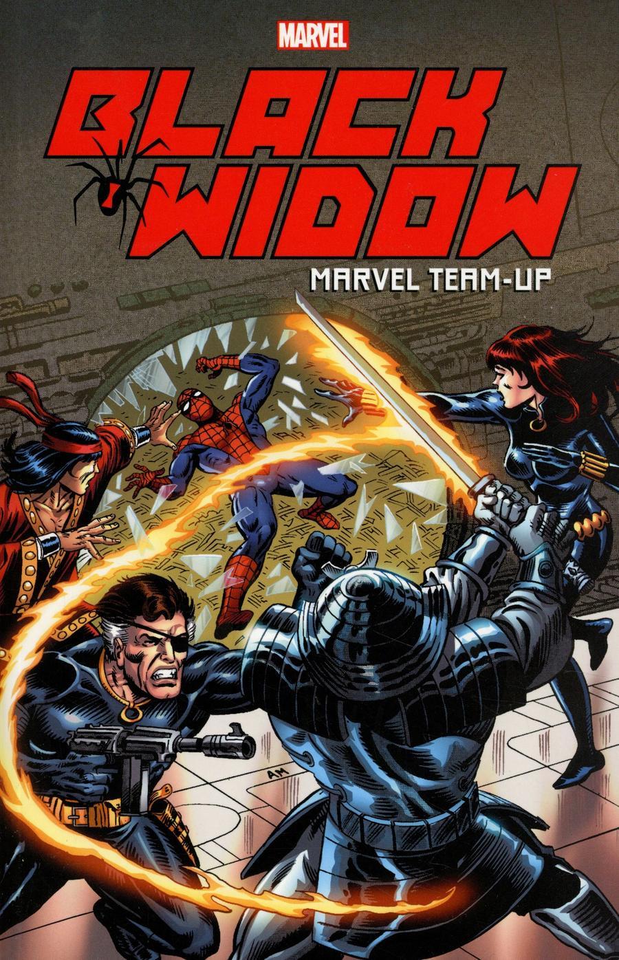 Black Widow Marvel Team-Up TP