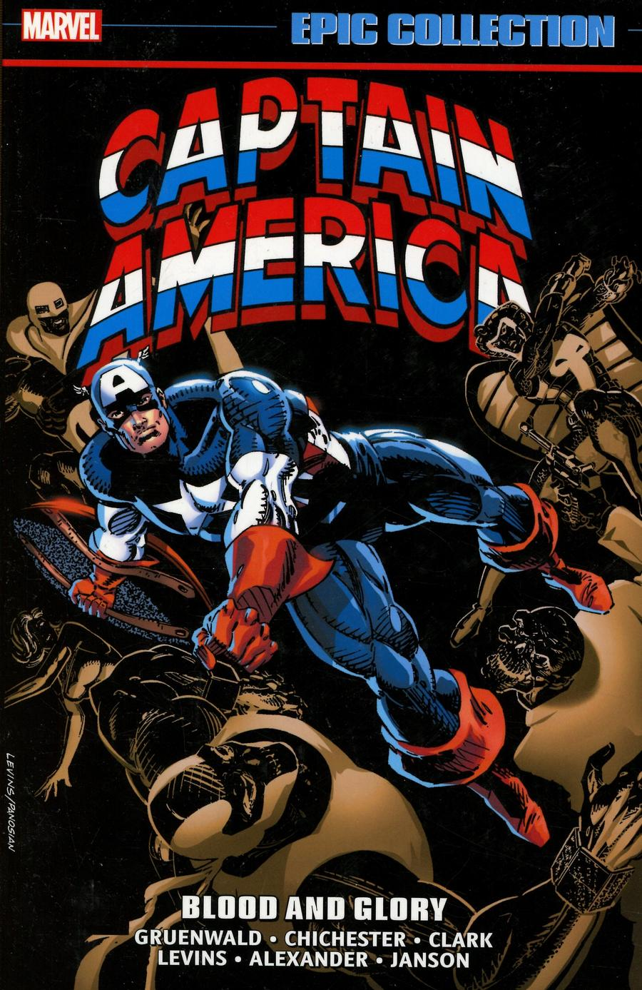 Captain America Epic Collection Vol 18 Blood And Glory TP